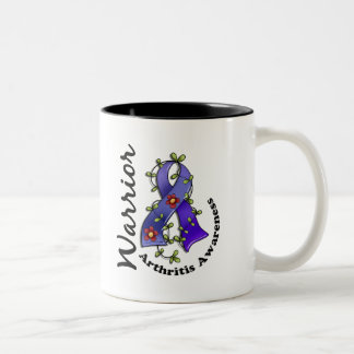 Arthritis Warrior 15 Two-Tone Coffee Mug
