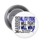 Arthritis Warrior 2 Inch Round Button
