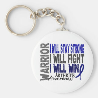 Arthritis Warrior Keychain