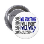 Arthritis Warrior Pin