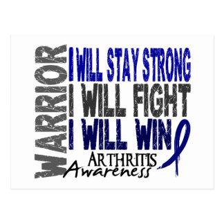 Arthritis Warrior Postcard