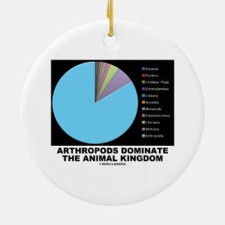 Arthropods Dominate The Animal Kingdom Double-Sided Ceramic Round Christmas Ornament