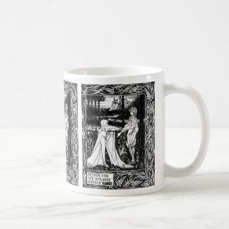 Arthur and the strange mantle coffee mug