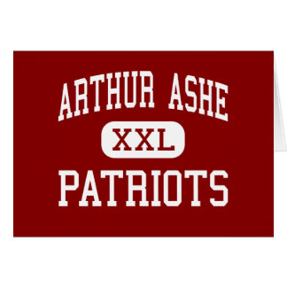 Arthur Ashe - Patriots - Middle - Fort Lauderdale Cards