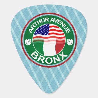 Arthur Ave Bronx Italian American Art Guitar Pick