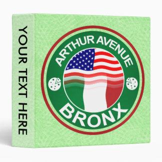 Arthur Ave Bronx Italian American Binder