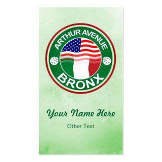 Arthur Ave Bronx Italian American Business Cards