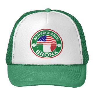Arthur Ave Bronx Italian American Trucker Hat