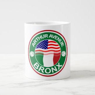 Arthur Ave Bronx Italian American Large Coffee Mug