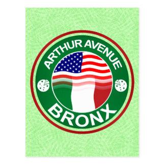 Arthur Ave Bronx Italian American Postcard