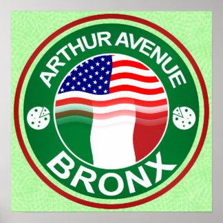 Arthur Ave Bronx Italian American Poster Print