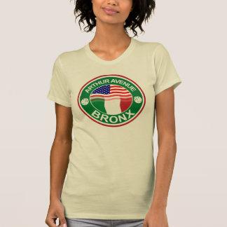 Arthur Ave Bronx Italian American T Shirt