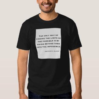 Arthur C Clarke Quote T-Shirt