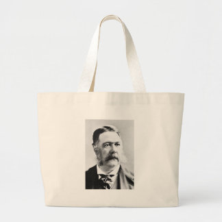 Arthur ~ Chester Alan / President of United States Large Tote Bag