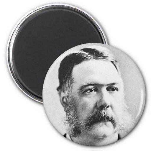 Arthur ~ Chester Alan / President of United States Magnet