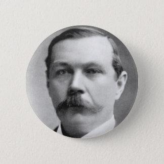 Arthur Conan Doyle Photo Pinback Button
