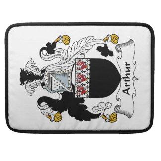 Arthur Family Crest MacBook Pro Sleeves