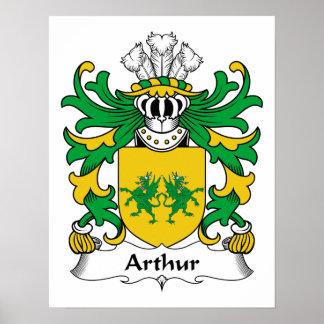 Arthur Family Crest Print