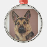Arthur - German Shepherd Christmas Ornaments