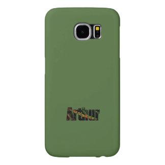 Arthur Greenish Tones Samsung Galaxy case