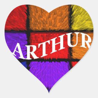 ARTHUR HEART STICKER