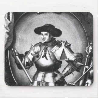 Arthur III  of Brittany Mouse Pad