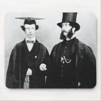 Arthur Munby and his father, c.1851 Mouse Pad