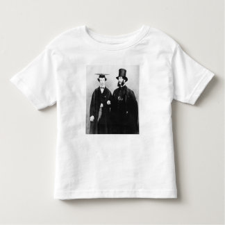 Arthur Munby and his father, c.1851 Shirts