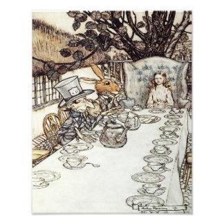 "Arthur Rackham 1907 ""The Mad Tea Party"" Print Photo Print"