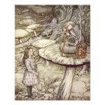 "Arthur Rackham  ""Alice and the Caterpillar"" Photo Art"