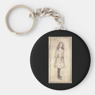 Arthur Rackham Alice In Wonderland Keychain