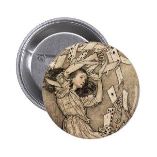 Arthur Rackham Alice In Wonderland Pinback Button
