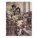 Arthur Rackham Alice In Wonderland Postcards