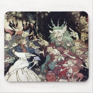 Arthur Rackham King Of Trolls Illustration Mouse Pads