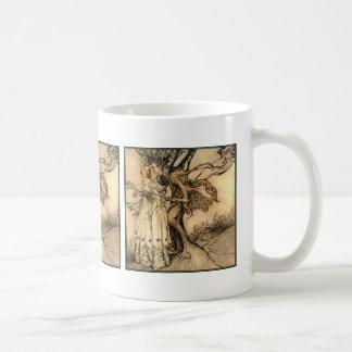 Arthur Rackham - Old Woman in the Wood Coffee Mug