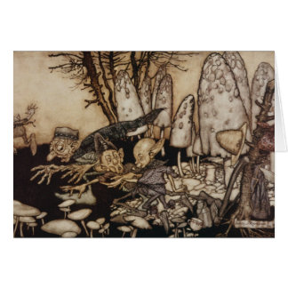 Arthur Rackham | Peter Pan in Kensington Gardens Card
