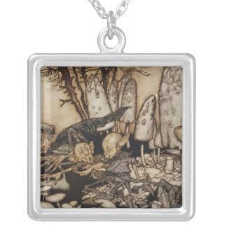 Arthur Rackham   Peter Pan in Kensington Gardens Silver Plated Necklace