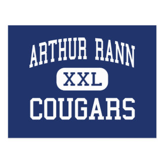 Arthur Rann Cougars Middle Absecon Postcard