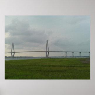 Arthur Ravenel Jr. Bridge - Charleston, SC Poster