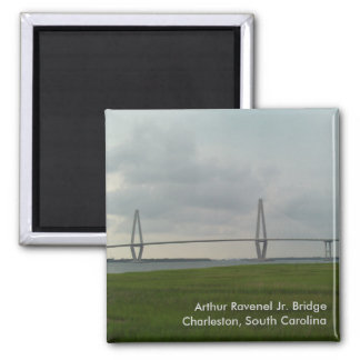 Arthur Ravenel Jr. Bridge Magnet - Charleston, SC