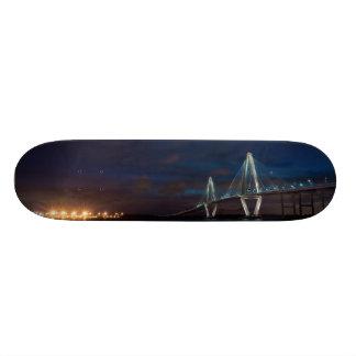 Arthur Ravenel Night Pano Skateboard Deck