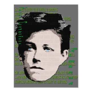 Arthur Rimbaud Card