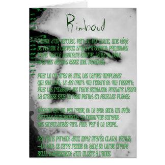 Arthur Rimbaud Card