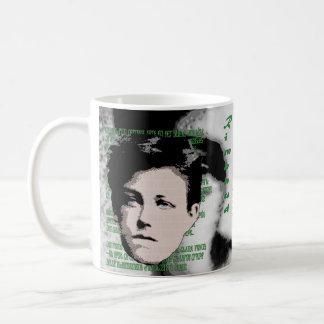 Arthur Rimbaud Classic White Coffee Mug