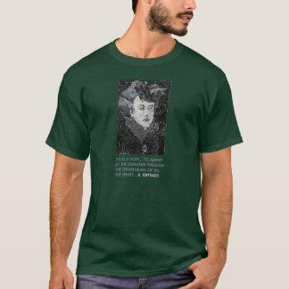 """Arthur Rimbaud, """"...Disordering the senses"""" T-Shirt"""