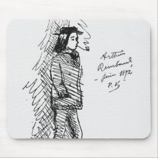 Arthur Rimbaud  June 1872 Mouse Pad