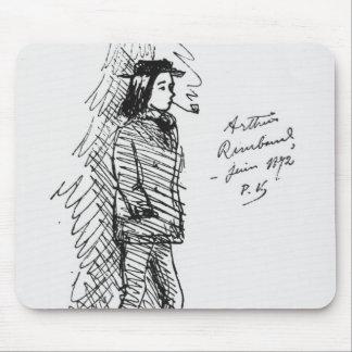 Arthur Rimbaud June 1872 Mousepad