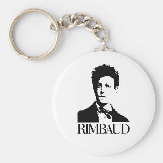 Arthur Rimbaud Keychain