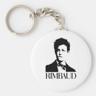 Arthur Rimbaud Llavero Redondo Tipo Pin