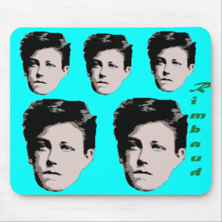 Arthur Rimbaud Mousepad
